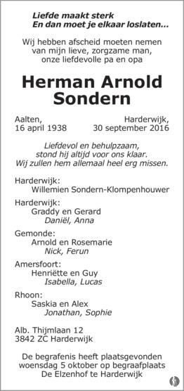 herman-arnold-sondern