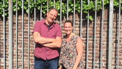 Jongerencoaches Ruud Snel en Carola de Rek