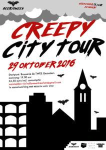 poster creepy tour