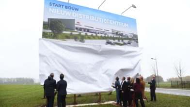 Start bouw distributiecentrum november 2016
