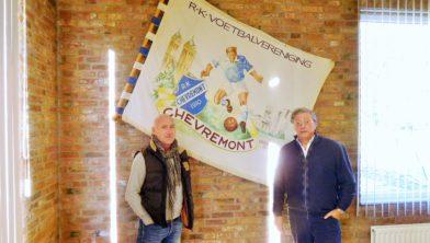 Jan van Dijk (l) en voorzitter Martin Stevens