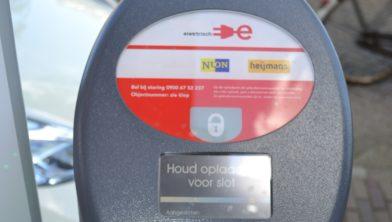 Vanaf Nu In Heerlen Een Openbare Oplaadpaal Voor Elektrische Auto