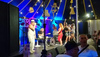 Dr. Funk & Mr. Soul in de Tent van Lex