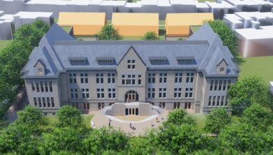 Voorzijde nieuwe Kindcentrum