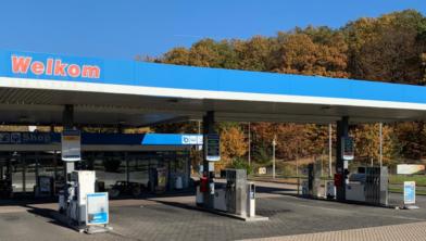 Fossielvrij dieselen dankzij blauwe diesel bij tankstation de kissel