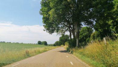 De Vrakelbergerweg-Vijfbundersweg tussen Ubachsberg en Wijlre.