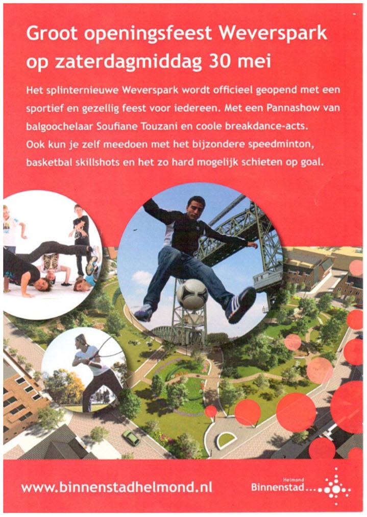 flyer weverspark