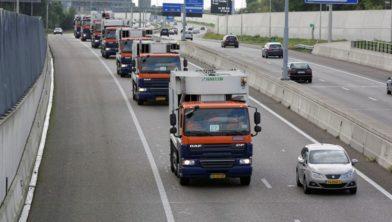 Afvalstoffendienst Gemeente ´sHertogenbosch, truck Tour 2015, Binckhorst Rosmalen, 27 9 2015