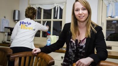 HAARSTEEG -  Melanie van Bijnen, hulp te huur, 01-11-2013 .