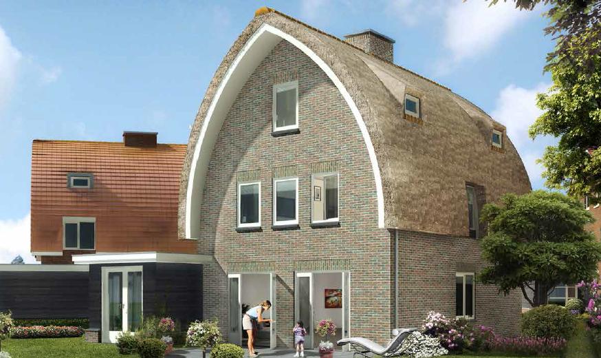 Feestelijke start bouw bijzondere woningen villapark for Bijzondere woningen