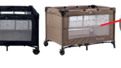 Belangrijke veiligheidwaarschuwing bedverhoger bambino reisbed box