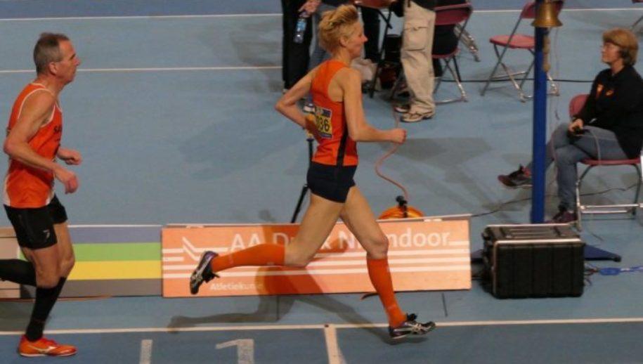 Astrid van der Velden stelt podiumplek veilig