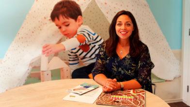 Chantal Migchelbrink van Ska Kinderopvang is blij met samenwerking Marathon Amersfoort