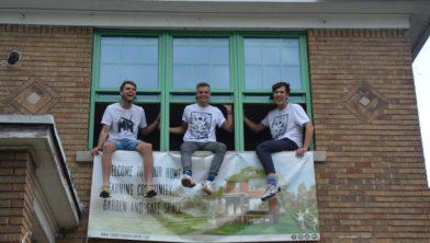 Verduurzamers Chris, Owen en Casper van The Motown Movement