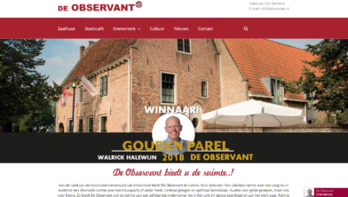 Observant lanceert nieuwe website