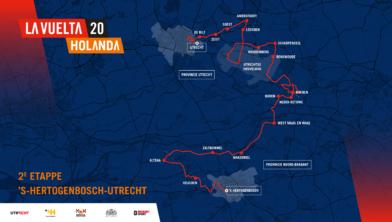 Etappe 2 van de Vuelta