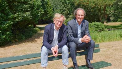 Peter van Hofwegen en Frans de Bie