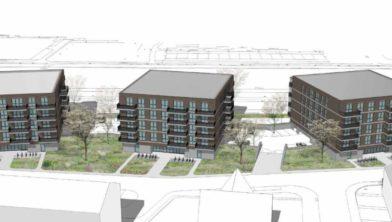 Nieuw plan voor 84 woningen Bachweg