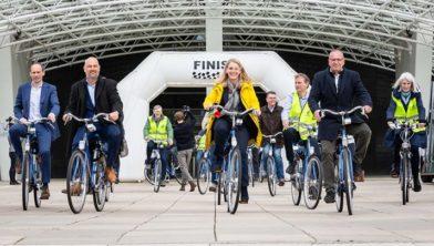 Kick off fietsmeetnet op 17 mei