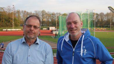Gert Koudijs links en Alfons Hurenkamp