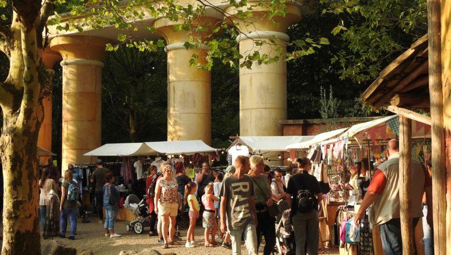 Ibizamarkt tijdens foodfestival