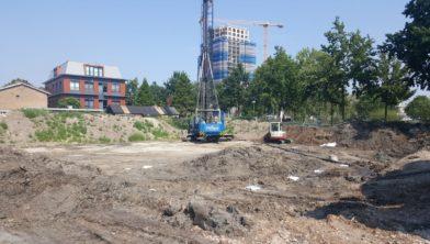 Start bouw Bachweg
