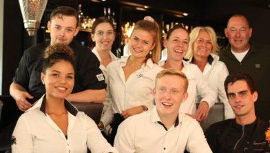Het team van restaurant De Gezelligheid