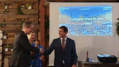Rob van Muilekom lanceert het stadmakersfonds in utrecht