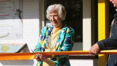 Oud-directrice Astrid Vis heropent het park