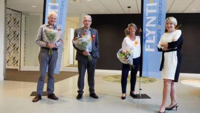 Piet van Laar, Thijs Gerth, Ria van Middelaar, Leonieke van der Meer