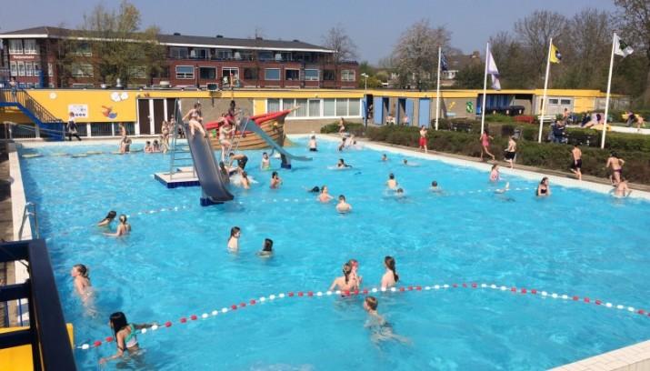 Opening zwemseizoen zwembad de wijzend hoorn