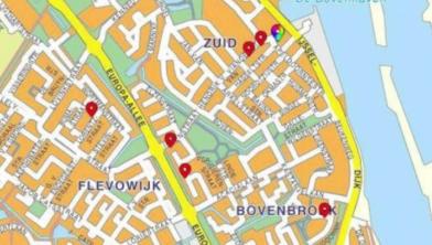 Inbraakgolf in centrum Kampen