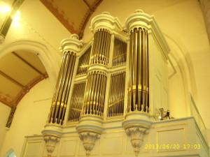 Kerkorgel Kapelle