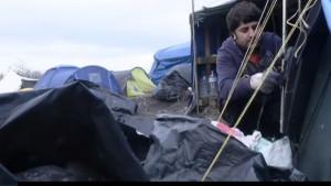 vluchtelingenkamp / inzamelingsactie
