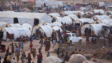 Ook in eigen land van herkomst worden vluchtelingen opgevangen,
