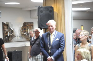 Burgemeester Rob Posthunus