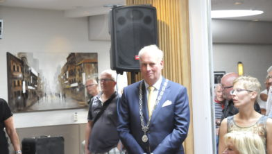 Archieffoto burgemeester Posthumus.