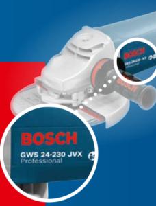 Haakse slijpmachines Bosch