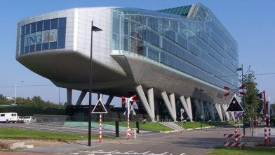 ING Bankkantoor aan de Amsterdamse Zuidas.