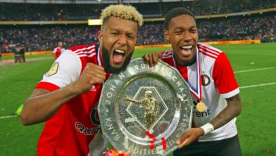 Archieffoto Feyenoord bij het behalen van het landskampioenschap 2016-2017l