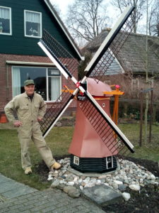Model van de Gouden Engel in Wogmeer