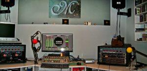 Marmusic studio in Denia (Spanje)