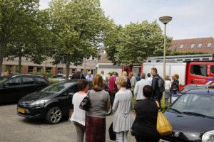 Brand zonnepaneel Gemeentehuis Opmeer