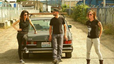 De uit Seattle afkomstige band 'Silverhands'.