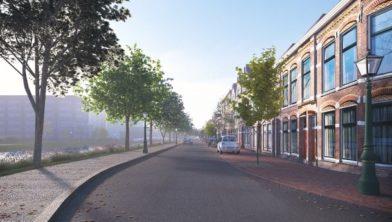 Impressie Maresingel-Rijnsburgersingel