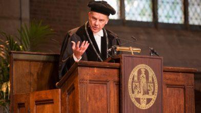 Rector magnificus Carel Stolker: 'Praesidium Libertatis is een dagelijkse opdracht.'