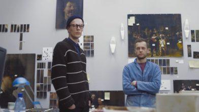Ontwerpersduo Maarten Kolk (rechts) & Guus Kusters