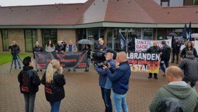 Protest in Nederweert