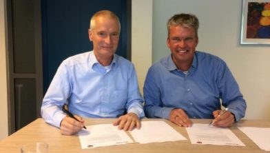 Wiel Ploegman (l) en Marc van Ooijen.