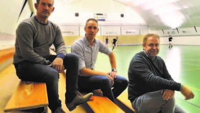 Van links naar rechts: Pieter Derikx, Edwin van Pol en Marcel Wellmans.